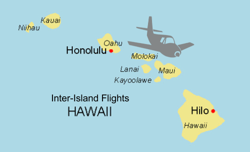 Inter Island Flights Hawaii