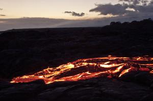 Kalapana Lava Viewing Area