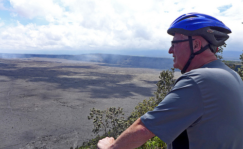 Bike Tour Of Kilauea Volcano